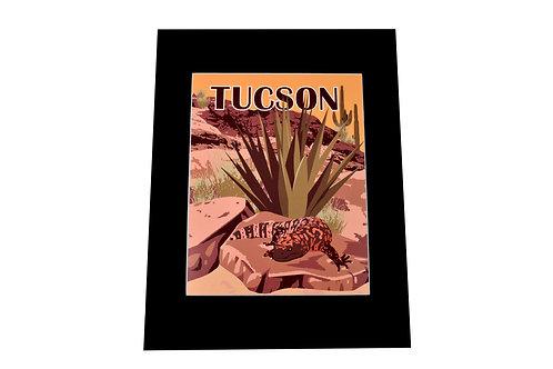 Print   Gila Monster   Tucson or Southwest Option