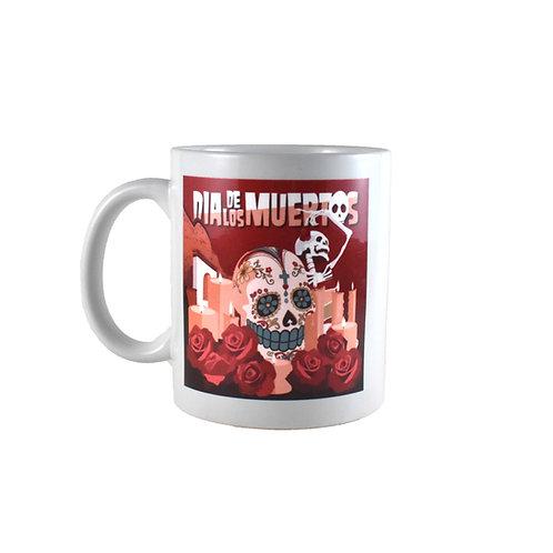 Mug   Dia De Los Muertos   Sugar Skull
