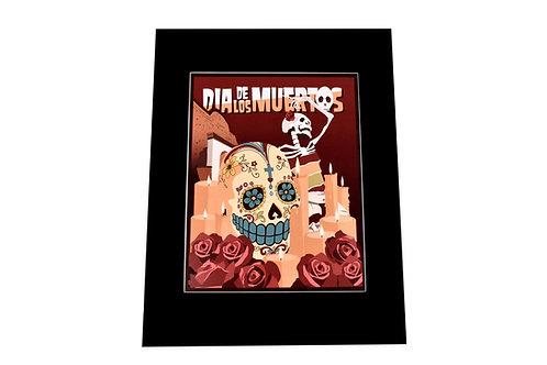 Print   Sugar Skull   Dia de los Muertos