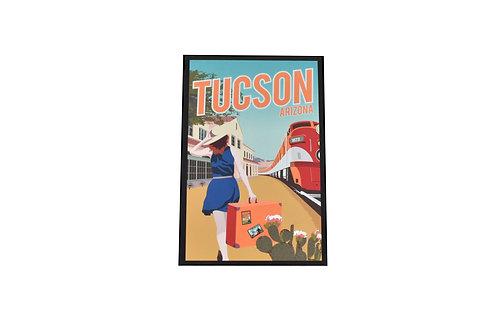Postcard | Train | Tucson