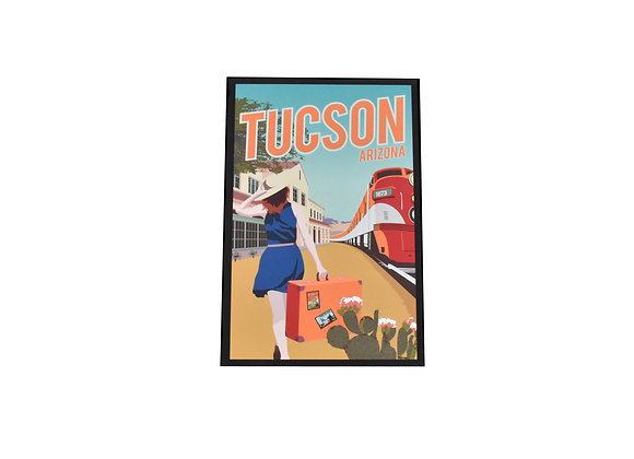 Postcard | Train | Tucson