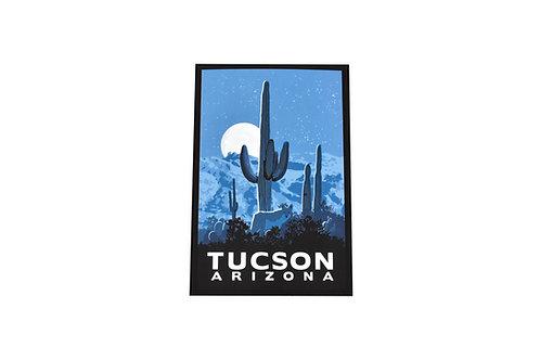 Postcard   Coyote   Tucson