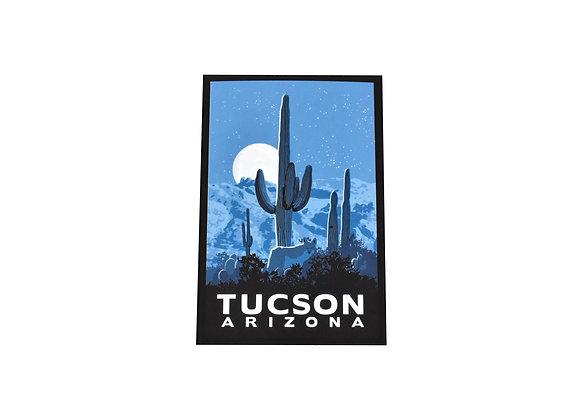 Postcard | Coyote | Tucson