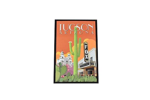 Postcard   Fox Theatre   Tucson