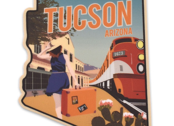 Sticker | Train Station | Tucson