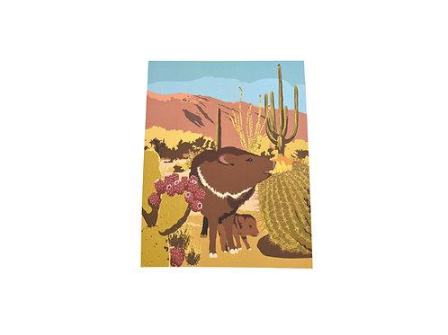 VEN   Print   Southwest Javalina   Tucson Option