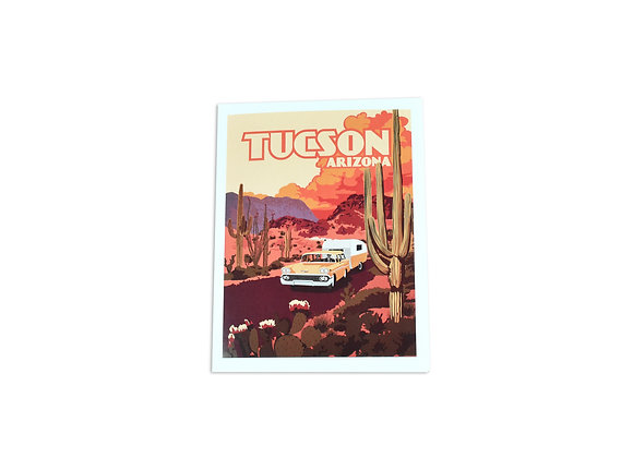 Note Card | Camping | Tucson