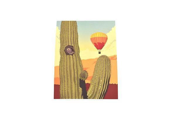 VEN | Print | Southwest Owl | Tucson Option