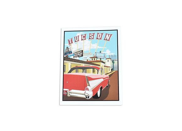 VEN | Note Card | Motels | Tucson