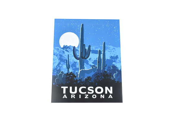 Print | Coyote Moon | Tucson or Southwest