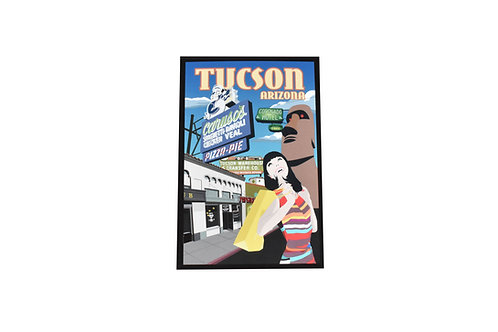 Postcard | 4th Avenue | Tucson