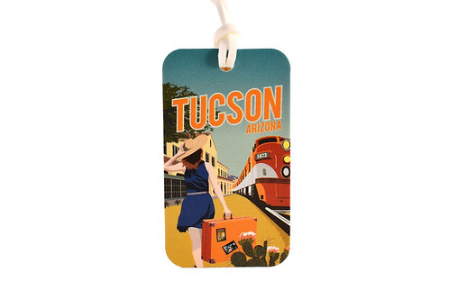 Luggage Tag | Train Station | Vinyl