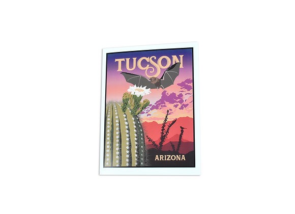 Note Card | Bat | Tucson
