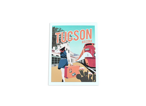 VEN | Note Card | Train Station | Tucson
