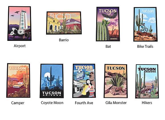 Standard Postcards | 5 Piece Set | Tucson