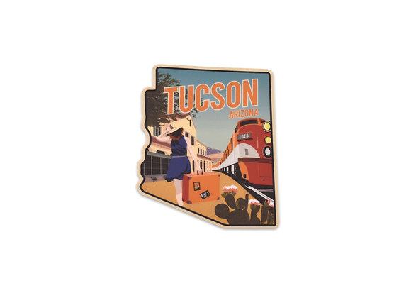 Sticker | Train Station | Tucson
