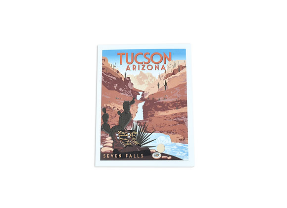 VEN | Note Card | Seven Falls | Tucson