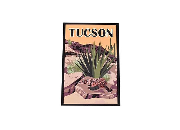 Postcard | Gila Monster | Tucson