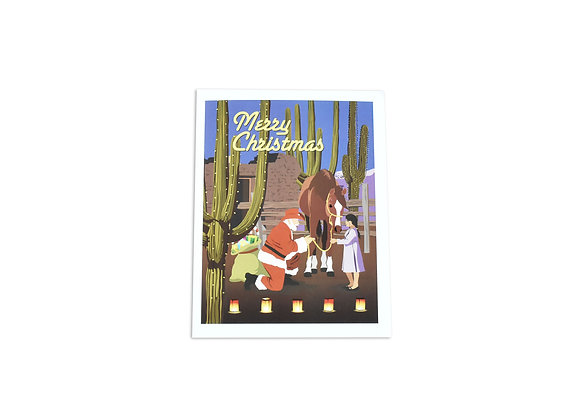 Merry Christmas | Note Card | Gift Horse | Tucson