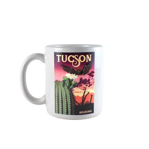 Mug   Saguaro Cactus    Desert Bat