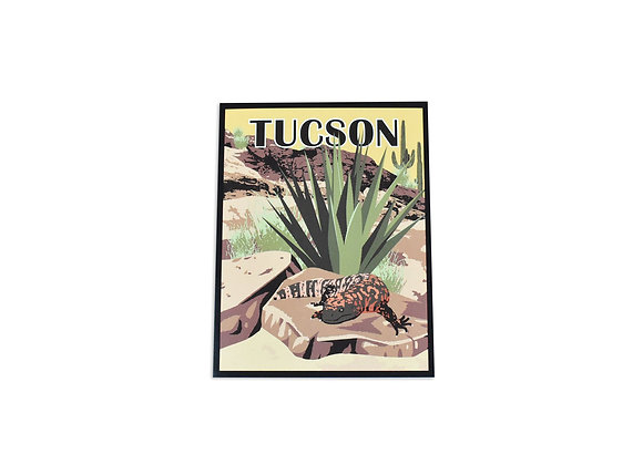 Note Card | Gila Monster | Tucson