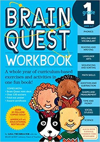 1st grade workbook