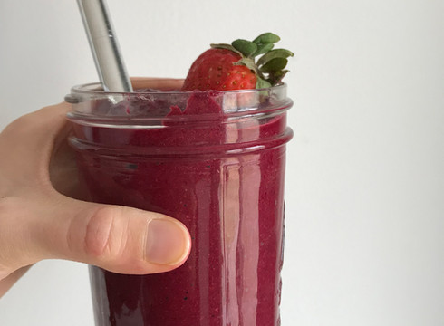Beet and Berry Smoothie