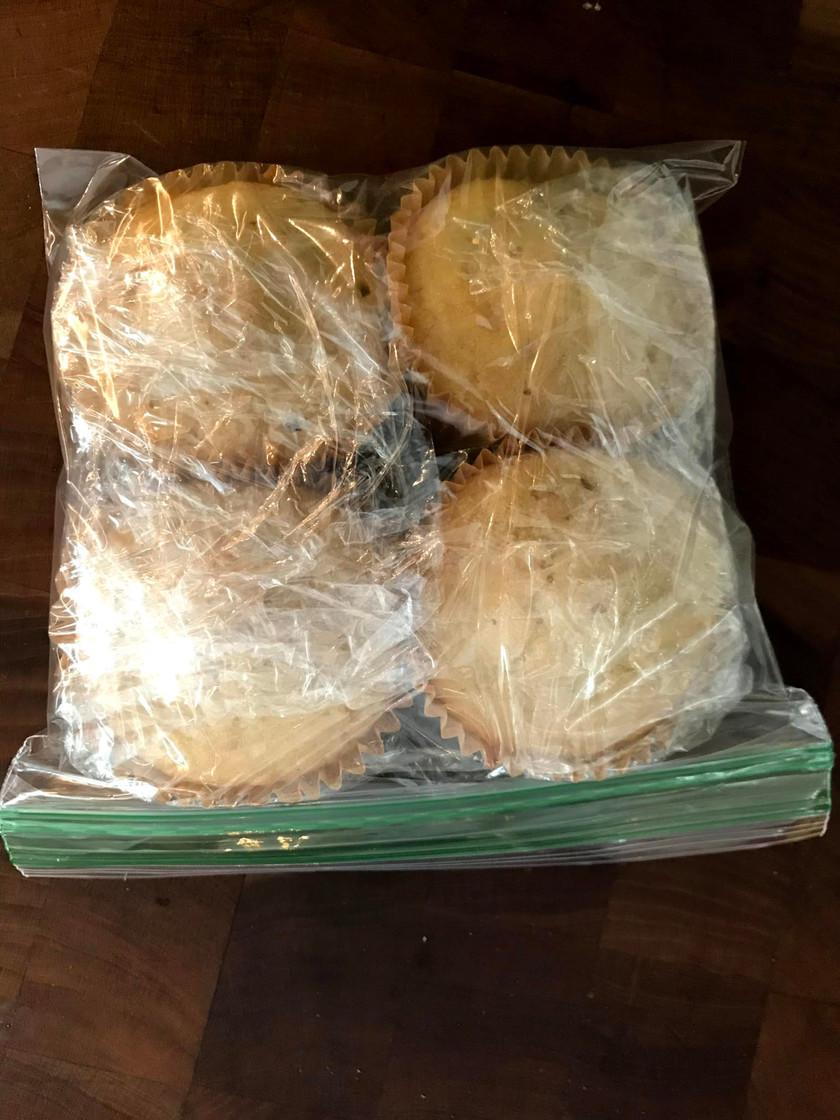 cupcakes in bag