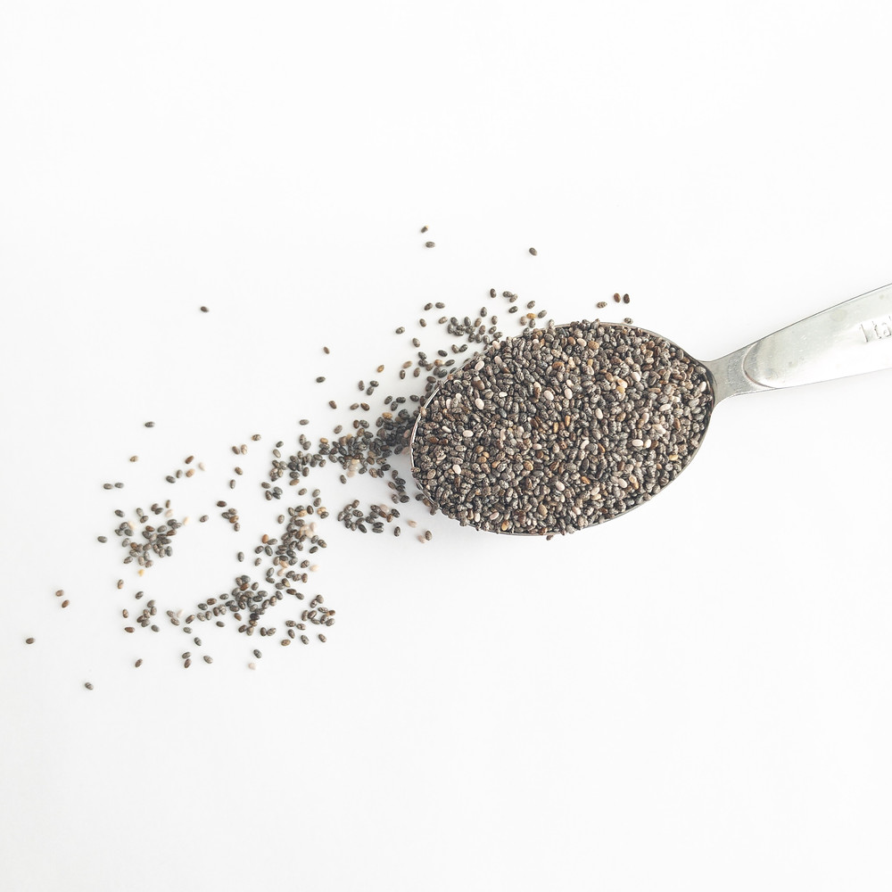 Chia seeds as egg replacer