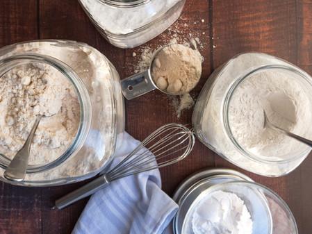 Baking with Gluten Free Flours