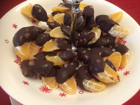 Dark Chocolate Covered Oranges