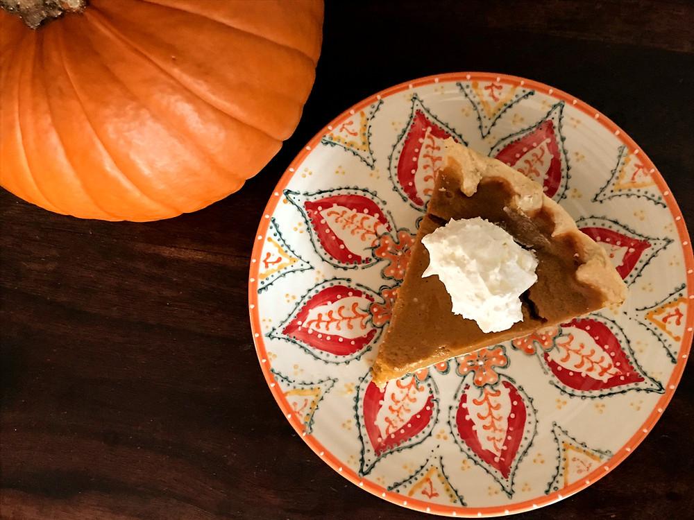 Gluten and Dairy Free Pumpkin Pie