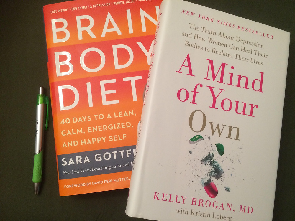 books for helping with anxiety and depression