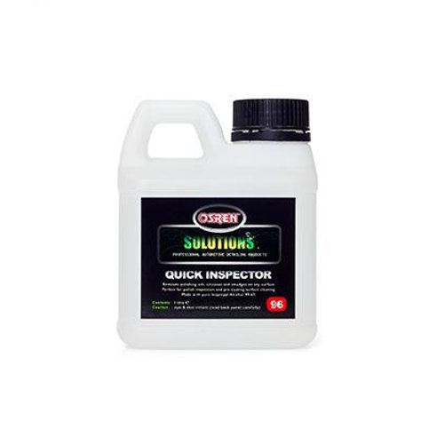 Quick Inspector isopropyl alcohol