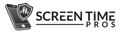 Screen Time Pros Logo Gray Splash