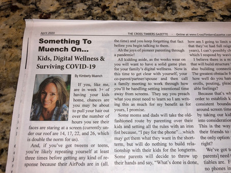 Kids, Digital Wellness & Surviving COVID-19