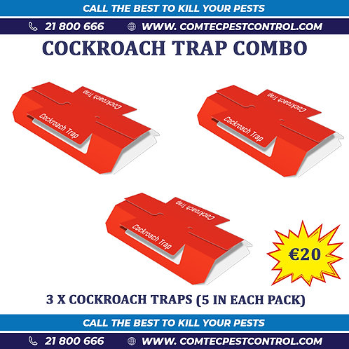 Cockroach Traps Combo