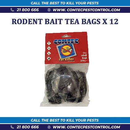 Rodent Bait in Wet Bag Format X 12