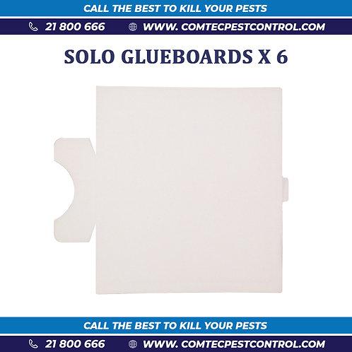 Glue Boards for Solo Unit (X6)