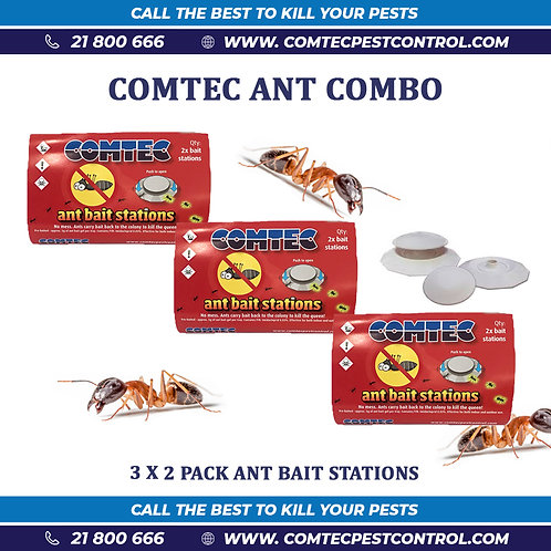 Anti Ant Gel Bait Station Combo Offer
