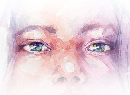 Expressive eyes in watercolour with Stephie Butler