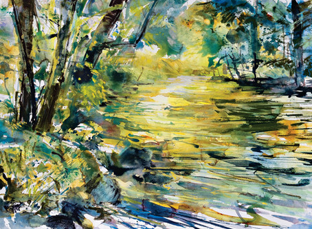 'Go with the flow' Summer River Reflections with Robert Dutton