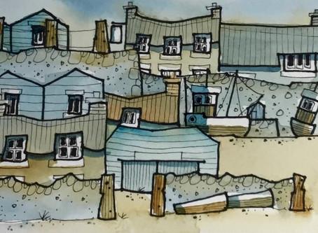 Paint a small coastal scene with John Devitt