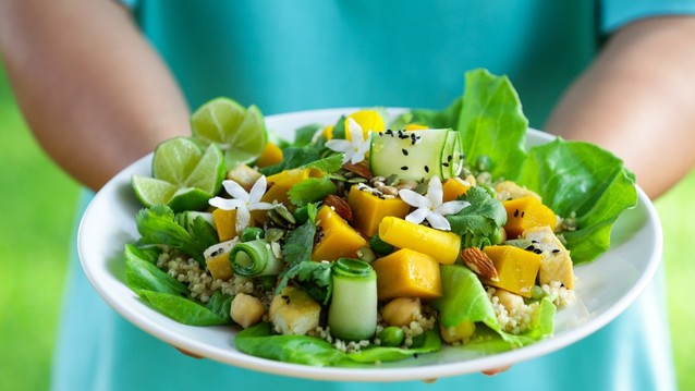 pumpkin and chickpea salad by GG_edited.