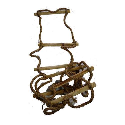 Wooden Ladder With Sisal Rope