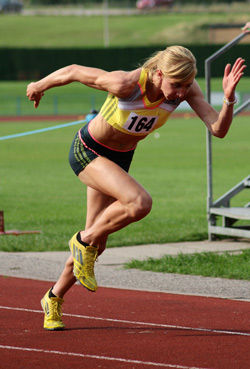 Sports massage athelete runner