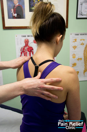 Examination and Assessment at The No1 Pain Relief Clinic
