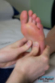 Reflexology at The No1 Pain Relief Clinic