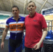 National Cycling Centre (Manchester) Working and training with local cyclists