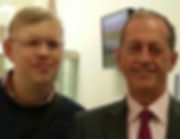 Nick working with former Liverpool FC physician and current Australian cricket team physician Peter Brukner